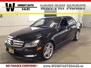 2013 Mercedes-Benz C-Class NAVIGATION|LEATHER|SUNROOF|95,217 KMS
