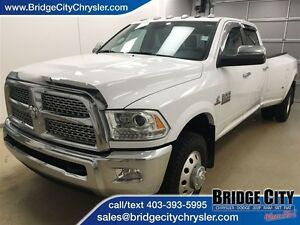 2015 Ram 3500 Laramie- Loaded Dually! Long box, Sunroof, Leather