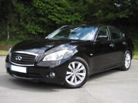 INFINITI 3.0 TD GT V6 AUTO - GLEAMING BLACK - LOW MILEAGE - HUGE VALUE, HIGH SPEC EXECUTIVE SALOON