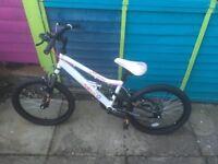 Girls 15 inch bike (hardly used)