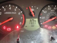 Low mileage Nissan micra