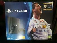 Ps4 pro with fifa 1tb