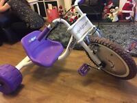 Flashing hog bike