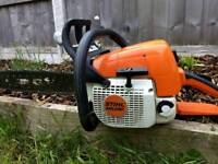 Stihl MS290 Petrol chainsaw excellent condition