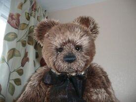 Retired Charlie Bears GREGORY 43CM (17ins)