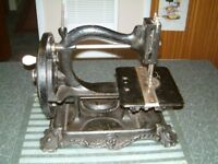 Wanzer ( believe to be model A ) Sewing Machine dating back to the 19th century.