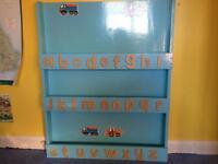Handmade kids bookcase