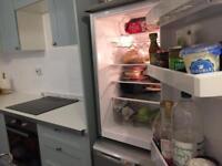Fridge and a freezer