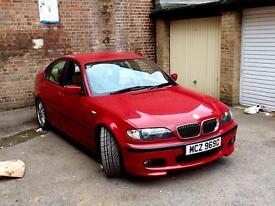 BMW 325I Saloon Facelift. Imola Red. Beige Dakota Leather. *READ DESCRIPTION*