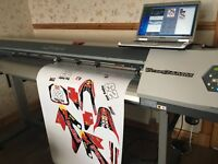 "Roland vp540 print and cut 54"" Eco solvent printer not mutoh mimaki or Epson"
