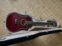 Yamaha APX-10 Wine Red 1991 Electro Acoustic Guitar Stereo. Stunning Condition.