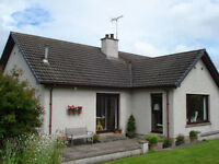 East Middletack, Kinnermit, Turriff £280,000-Detached 4 Bedroom Bungalow & Traditional Outbuildings