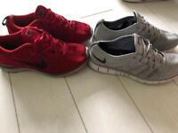 0256116c59ba8 2 Nike Flyknit trainers UK 9 9.5