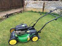 John Deere Self Propelled mulcher lawnmower for sale