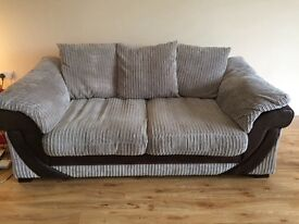 For Sale: DFS 2 Seater Fabric Sofa & Power Recliner Chair