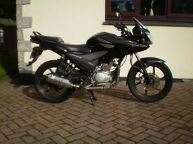 honda cbf 125 2011 super condition scorpion exhaust p/x possible