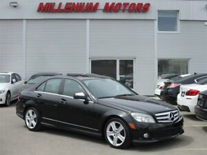 2009 Mercedes-Benz C-Class C300 4MATIC/ PREMIUM/ LEATHER/SUNROOF