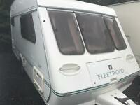 Fleetwood garland 128-2 1999 2 berth touring caravan