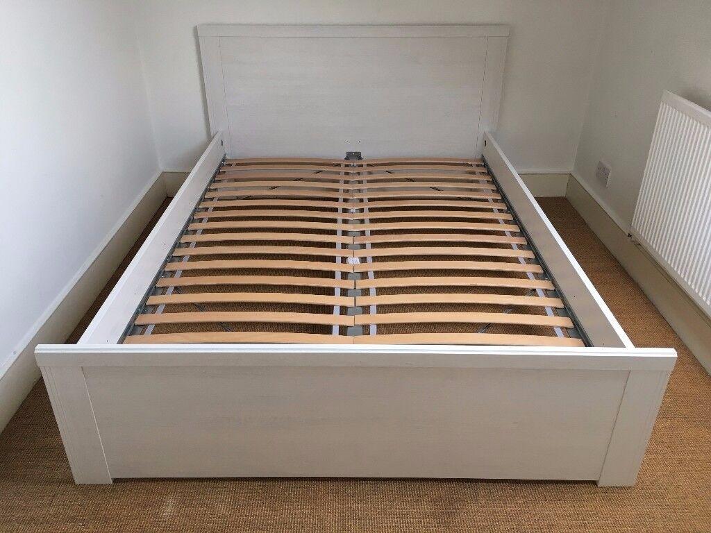 Ikea Brusali Bed Frame European Double 140 X 200cm Or 4 7