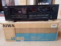 AIWA cassette deck, free, not working