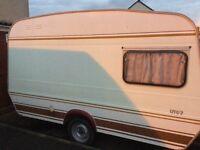 Monza 2 berth caravan
