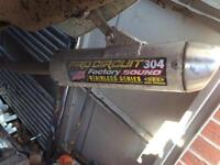 Pro circuit exhaust can for 85 125 65 250