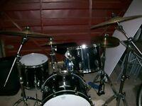 Tama drum kit.