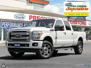 2016 Ford F-350 ***PLATINUM DIESEL LOADED***