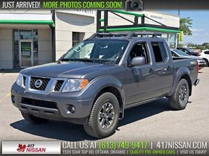 2018 Nissan Frontier PRO-4X | Navi, Sunroof, Leather Htd Seats