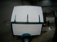 BOX TRAILER 5X3.2FT BY3 FT HIGH