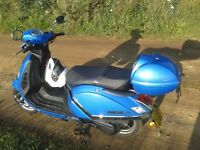 Lambretta Pato 125cc motorcycle scooter spares or repair.