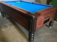 Pool tables - slate bed - brand new cloth - 7 x 4 ft