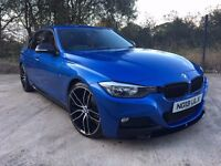 STUNNING BMW 3 SERIES M-SPORT ***M-PERFORMANCE KIT &RED LEATHER***