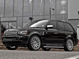 """Range Rover Vogue Sport Discovery set of 4 22"""" inch Alloy Wheels & Tyres Kahn RS"""