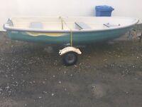 Tehri 385 double skinned unsinkable boat..13ft..£650ono Downpatrick
