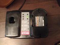 Ryobi One + 18V dual battery charger