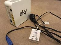 SKY hub wireless router