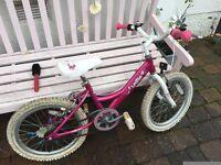 Girls bike (suit 6-9 years) - 18 inch Dawes Lottie