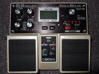 BOSS DD-20 delay pedal