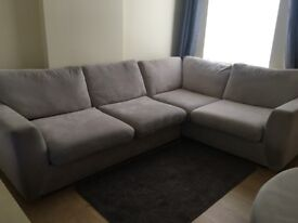 Corner sofa & Swivl chair