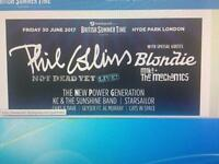 2x Gen Admission Tickets - Phil Collins. - Friday 30th June