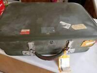 Large vintage suitcase