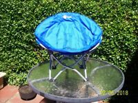 Blue Childs Camping Chair