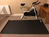 Brand new spinning bike and equipment for sale