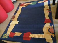 Multicoloured rug