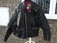Mans motorcycle jacket