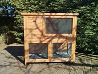 Double Height Rabbit Hutch (by Rabbit Shack)