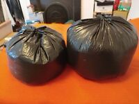 Bean bag polystyrene balls