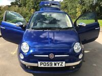 Superb Value And Great Condition 2009 59 Fiat 500 Sport 100 BHP 1.4 Only 49890 Miles HPI Clear F.S.H