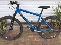 Mongoose men's mountain bike